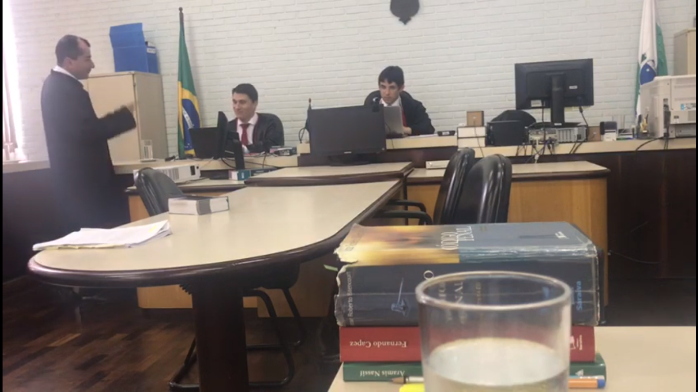Dr. Claudemir de Andrade Lucena participou de mais um JÚRI, no Foro Regional de Colombo